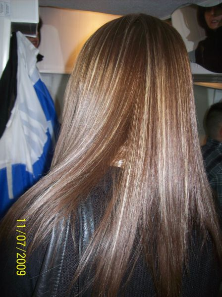 Coloration et balayage by SPACE-coiffure at SPACECOIF' all in Coiffure