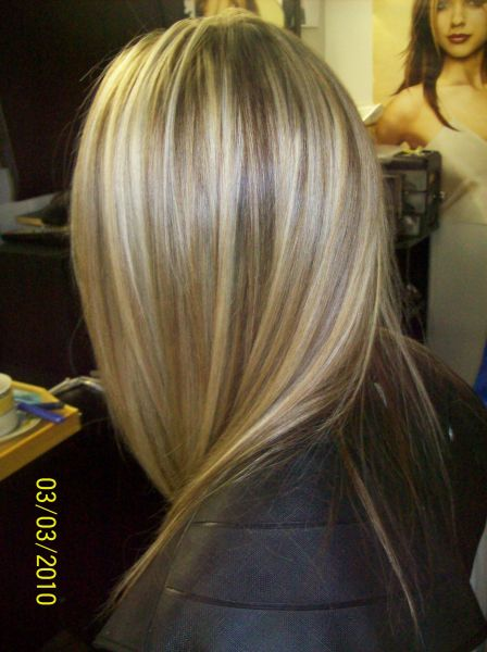 Le blond platine ou bb ou glac a vous de choisir at spacecoif all in coiffure - Meche blond dore ...